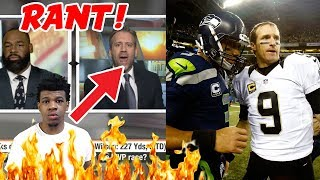 Max says Russell Wilson is better than Drew Brees | First Take | ESPN  (RANT!)