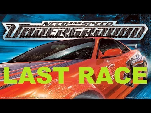 Need For Speed Underground – Last Race (Playstation 2 Gameplay)