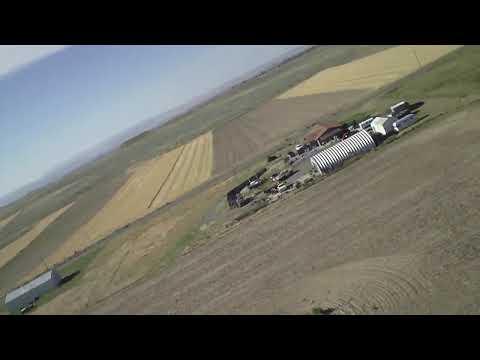 RC Aerial Video Over Billings, Montana