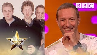 Chris Martin MORTIFIED by how TERRIBLE Coldplay used to look! | The Graham Norton Show - BBC