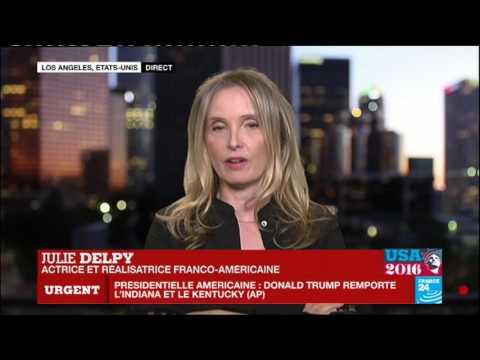 Présidentielle américaine : L'actrice et réalisatrice Julie Delpy se confie