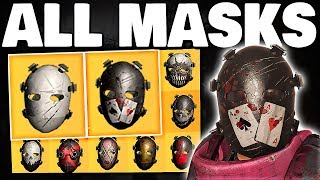 The Division 2 - HOW TO GET ALL 12 HUNTER MASKS FULL GUIDE !!