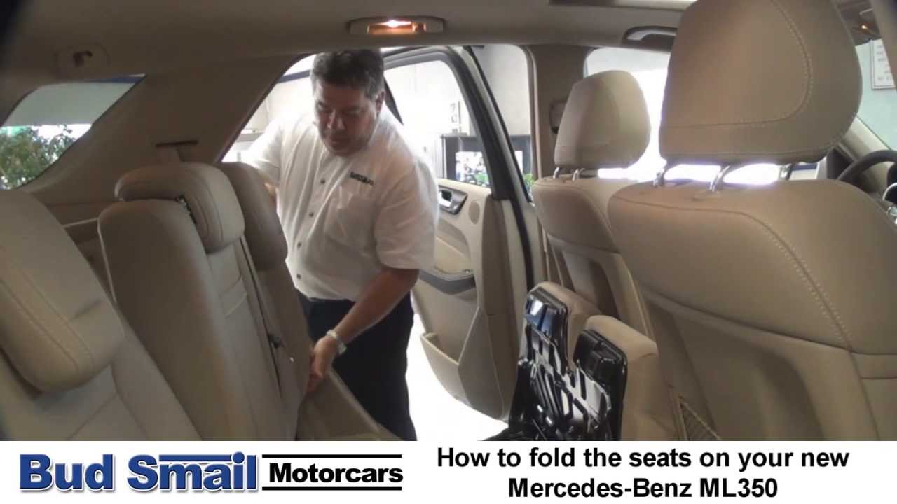 How to Fold the Seats in Your New Mercedes-Benz ML350 ...