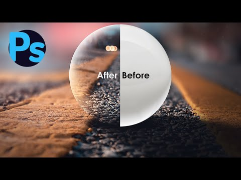 Adding Lens Ball In Photoshop CC 2020 : Photoshop Tutorial