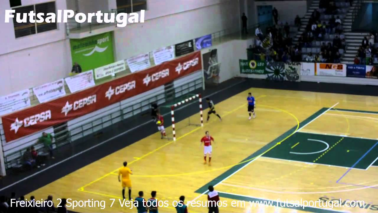 Futsal :: 03J :: Freixieiro - 2 x Sporting - 7 de 2010/2011