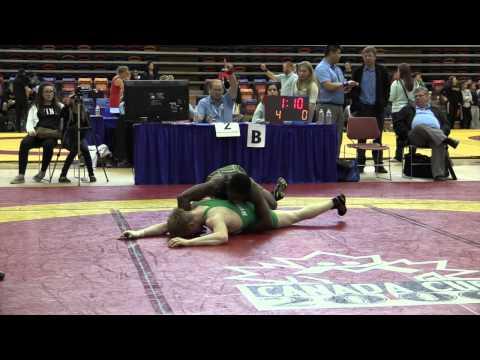 2014 Dino Invitational: 61 kg Dylan Williams vs. Nathan Galan