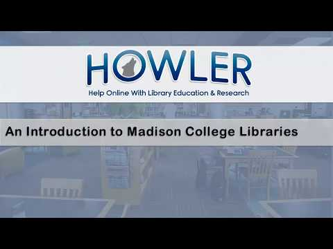 Madison Area Technical College Libraries : an introduction