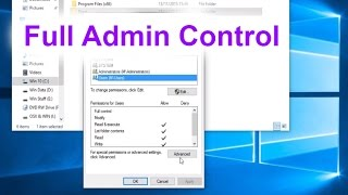 Take Administrator Control of Your Files and Folders - How to fix thumbnail