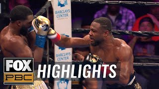 Jean Pascal defeats Marcus Browne by technical decision | HIGHLIGHTS | PBC ON FOX