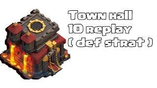 Clash of clans - Town hall 10 Defense ( impressions )
