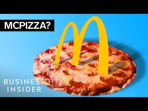 Kobe - McDonald's Pizza, the McLobster  & 9 bizarre discontinued McDonald's items