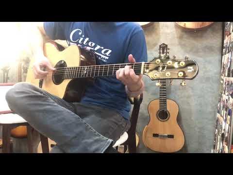 """แพ้ใจ""""Natasha Guitar JC45 Review2 By Citara House Of Guitar"""