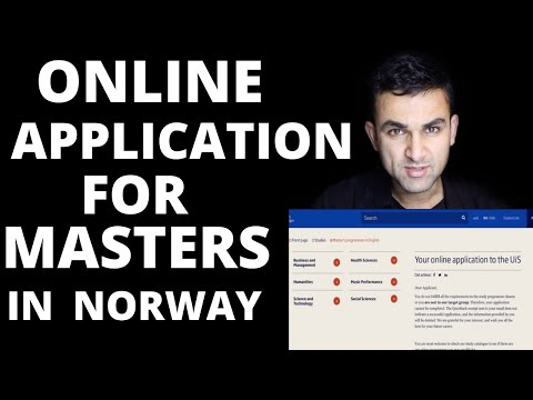 HOW TO APPLY FOR MASTERS IN NORWAY | APPLICATION PROCESS | STUDY IN NORWAY |