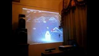 XXICO- basic kinect hack with a interactive soft-drinks bottle