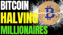 BITCOIN HALVING: A New Class Of Millionaires May Emerge   BTC Halving Searches Go Parabolic