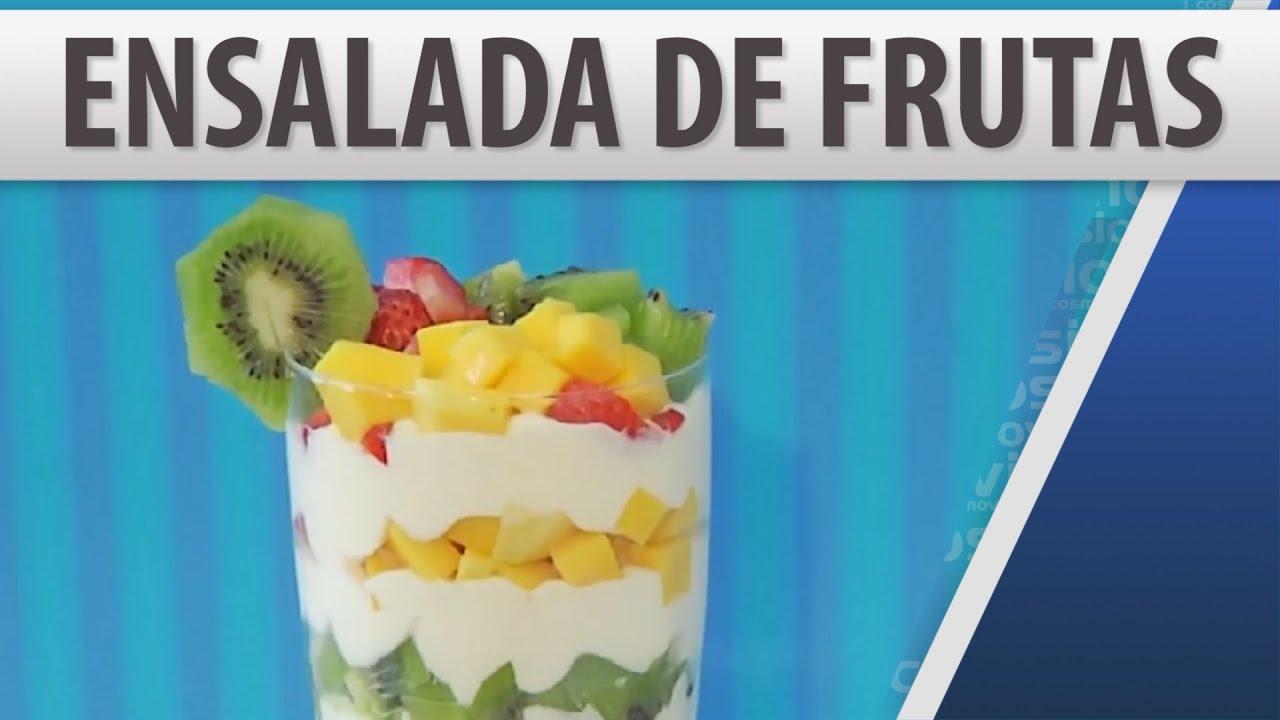 Recetas de postres faciles de frutas