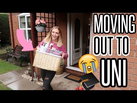MOVING OUT TO UNIVERSITY!! *emotional*