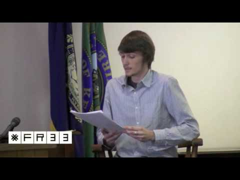 Evan Pierce defends his natural rights in court