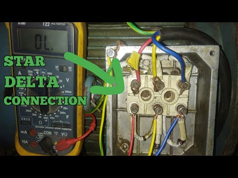 3 PHASE MOTOR STAR DELTA CONNECTION  YouTube