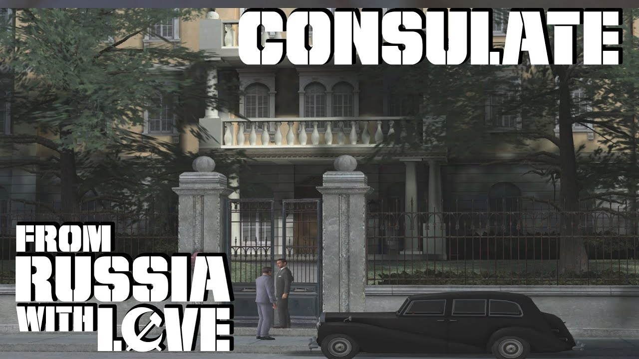 007 From Russia With Love Gcn Consulate 00 Agent Youtube