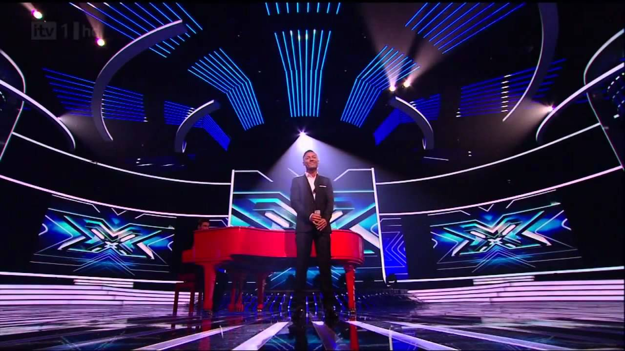 Lately Marcus Collins has been on stage - The X Factor ...