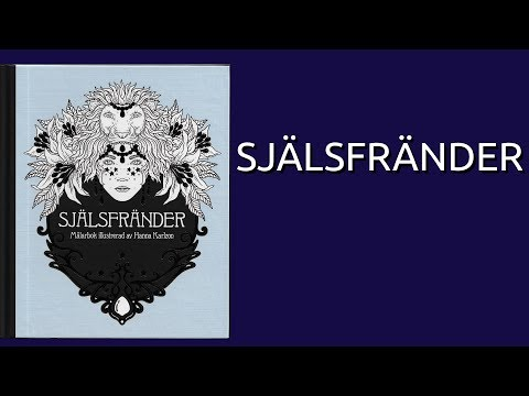Själsfränder By Hanna Karlzon (Soulmates) Coloring Book Flip Through