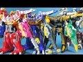 파워레인저 다이노포스 또봇 쿼트란 티라노킹 스피노킹 프테라킹 웨스턴 장난감 Power Rangers Dino Charge & Tobot toys