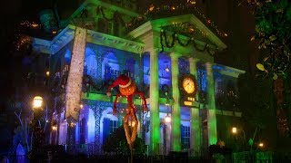 2018 Haunted Mansion Holiday *NEW* Disneyland Park Complete Ri…