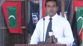 Address by Deputy Mayor of Addu City at the Foundation Stone Laying Ceremony of Hulhumeedhoo Police