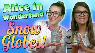 Alice In Wonderland Craft - Snow Globe W/ Crafty Carol & Ms. Booksy | A Cool School Craft
