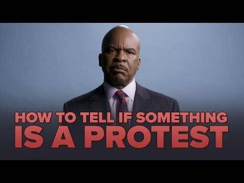 HOW TO TELL IF SOMETHING IS A PROTEST with David Alan Grier
