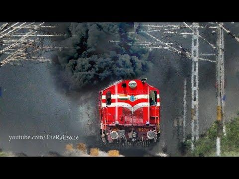 HARDCORE  Smoking  ALCo Eruption | Tons of SMOKE | Indian Railways