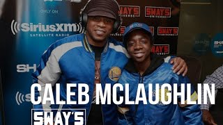 Caleb McLaughlin Interview: Talks Stranger Things and New Edition + Sings Live