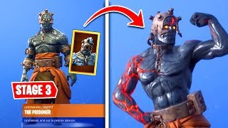 Fortnite STAGE 3 PRISONER KEY - How to unlock the Fire King snowfall skin