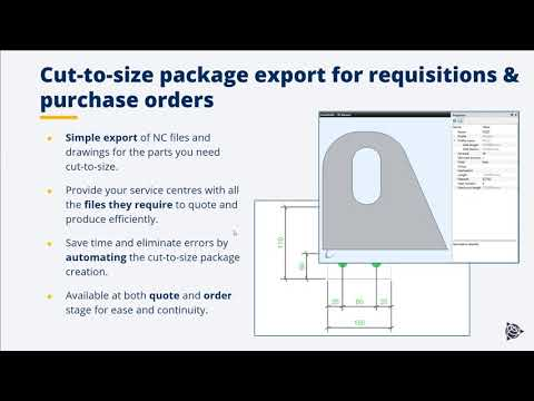 Provide your suppliers everything they need to process your cut-to-size purchase orders