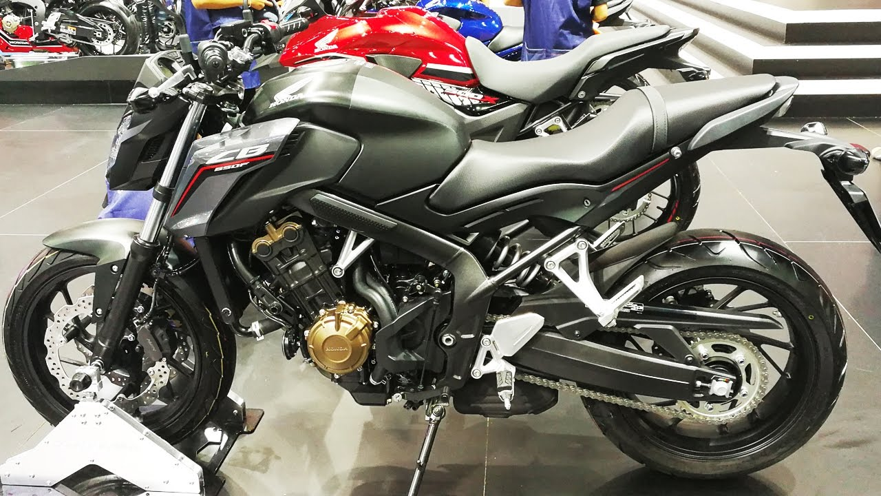 Honda CB650F Black - YouTube