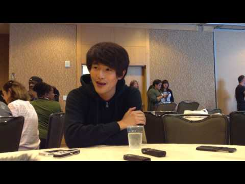The 100 - Christopher Larkin Interview - SDCC 2017