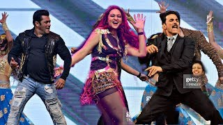 Salman Khan and Akshay Kumar Amazing Dance Performance With Sonakshi Sinha 2019 | IIFA Awards Show