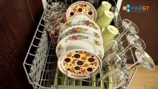 видео Встраиваемая посудомоечная машина узкая Korting KDI 4530