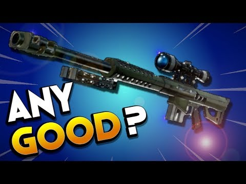 IS IT ANY GOOD? Legendary Obliterator Sniper Rifle in Fortnite Save the World PVE Review