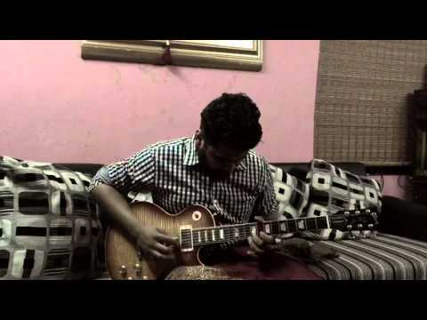 Malargale(love birds) on guitar - A.r.rahman - Shylu Ravindran
