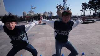 zico boys and girls freestyle slalom choreography yjs kjk