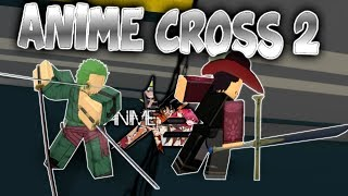 the two best anime cross 2 players teamed up and... | Roblox: Anime Cross 2