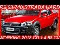 SLIDES R$ 63.740 #Fiat #Strada Hard Working 2018 CD 1.4 Fire Flex 88 cv #FiatStrada