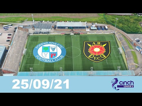 Forfar Albion Rovers Goals And Highlights