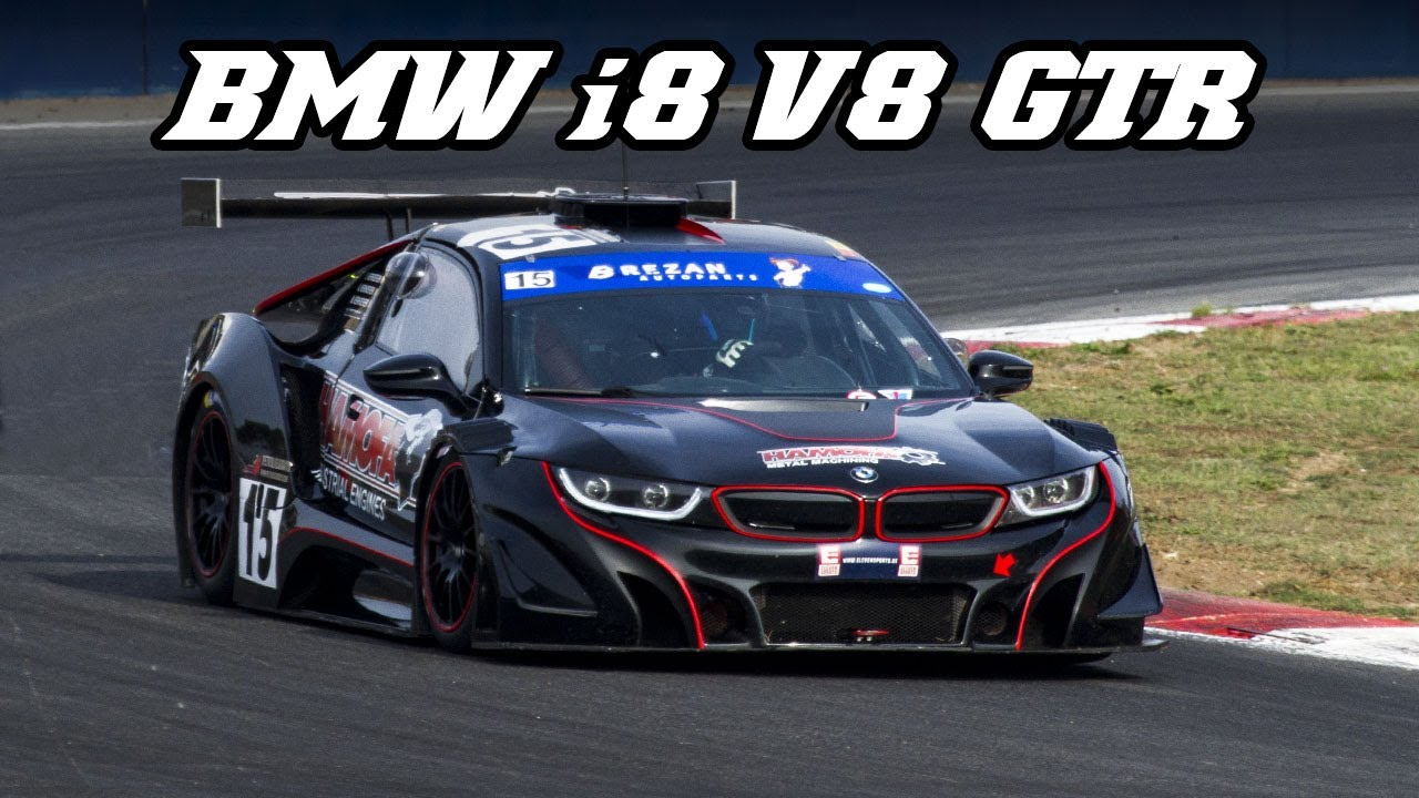 Bmw I8 V8 Gtr Last Race Of 2018 At Zolder Youtube