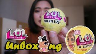 Unboxing LOL Lil Sisters Series 3 dan LOL Charm Fizz