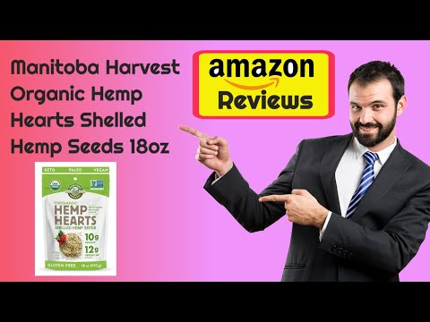 Manitoba Harvest Organic Hemp Hearts Shelled Hemp Seeds 18oz