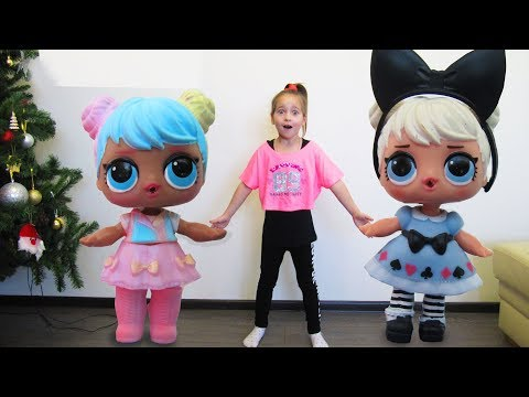 Куклы ЛОЛ ОРИГИНАЛ и Китайские ПОДДЕЛКИ Игрушки ЛОЛ куклы LOL Dolls Видео для детей Шарики с Куклами