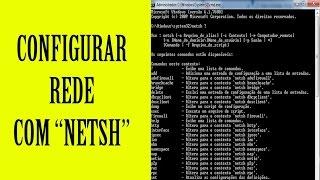 Configuração de rede usando CMD (NETSH) no Windows